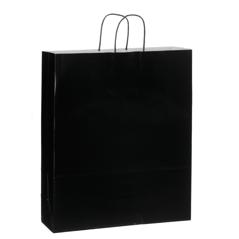 Color Gloss Paper Shopper Tote Bag (16