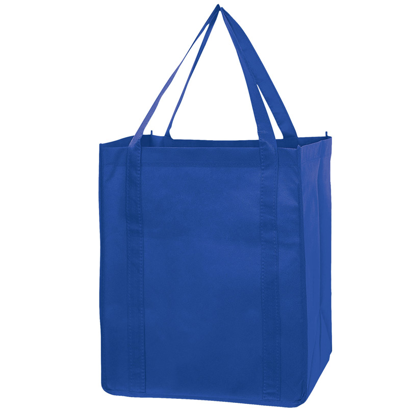 "Recession Buster Non-Woven Grocery Tote Bag w/Insert (13""x10""x15"") - Screen Print"