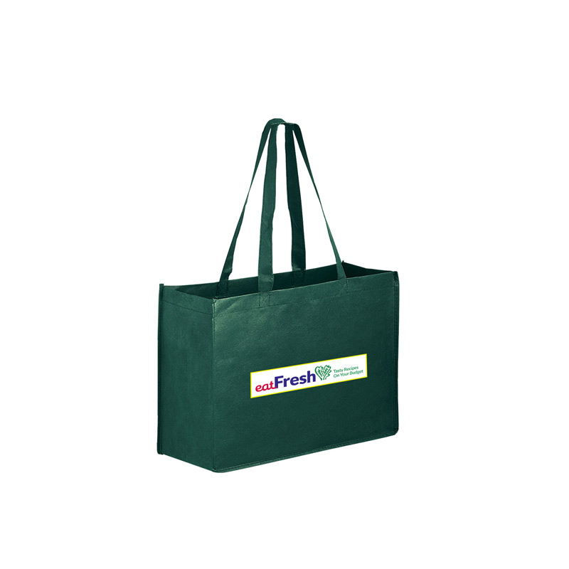 "Non-Woven Tote Bag w/Full Color (16""x6""x12"") - Color Evolution"