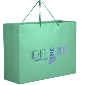 Matte Laminated Euro Tote Bag |13x5x10|
