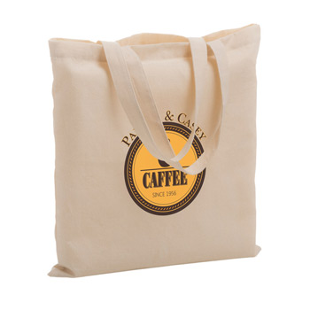 "Cotton Canvas Tote Bag (15""x15"") - Screen Print"