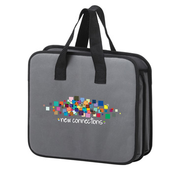 "Trunk Tote Organizer w/Full Color (14""x12""x18"") - Color Evolution"