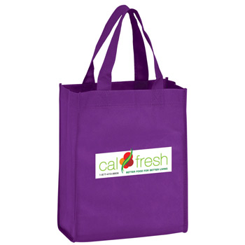 "Recession Buster Non-Woven Tote Bag w/Full Color (8""x4""x10"") - Color Evolution"
