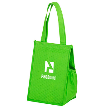 "Insulated Non-Woven Lunch Tote w/Insert (8""x7""x12"") - Screen Print"